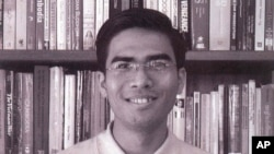 "Dy Khamboly, author of ""History of Democratic Kampuchea""."