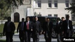 Avganistanski predsednik Hamid Karzai uoči konferencije za novinare u Kabulu