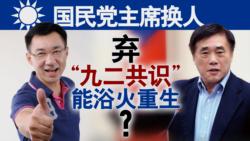 """海峡论谈:国民党主席换人 弃""""九二共识""""能浴火重生?"""