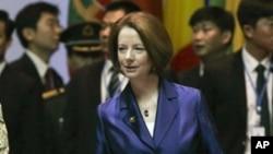 ၾသစေၾတးလ် ဝန္ႀကီးခ်ဳပ္ Julia Gillard