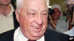 Wani tsohon hoton marigayi tsohon firai ministan Israila Ariel Sharon tare da matar shi Lily