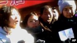 外地访民除夕日在北京王府井乞讨,吁无家可归现状受关注