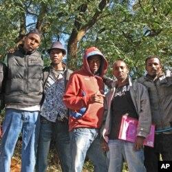 Iziphepheli ezivela kwamanye amazwe ezihlala kwele South Africa.