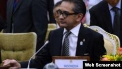 انڈونیشیا کے وزیر خارجہ مارتی ناتا لیگاوا(فائل)