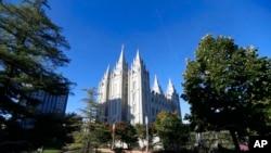 美國猶他州鹽湖城的摩門教聖殿