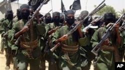 图为索马里激进组织青年党资料照