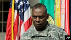Afghanistan Suspect General Lloyd Austin March 23, 2012 AP