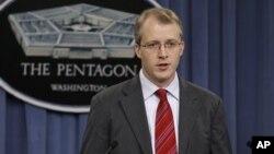 조지 리틀 국방부 대변인. (자료사진)