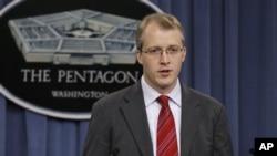 조지 리틀 미국 국방부 대변인. (자료사진)
