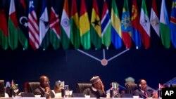 Taron shugabannin Africa a kasar India.