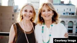 Psychotherapist and auther Joan Friedman (left) says when she and her twin sister Jane were growing up, they were treated like stars. (Courtesy Joan Friedman)
