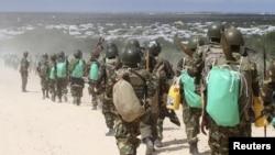 Abasirikare ba AMISOM bava mu Burundi mu bikorwa vyo gukizura i Mogadishu muri Somaliya