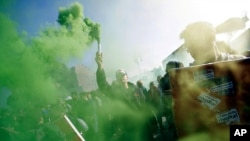 Anti-Austerity Protests Across Europe
