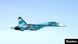 Máy bay SU-27 của Nga được cho là đã vi phạm không phận Phần Lan gần khu vực Porvoo, Phần Lan, sớm ngày 07 tháng 10 năm 2016.