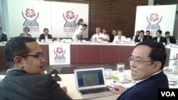 US-ASEAN Defense Forum တက္ေရာက္ေနတဲ့ ျမန္မာ ကာကြယ္ေရးဝန္ႀကီး ဒုတိယ ဗိုလ္ခ်ဳပ္ႀကီးေဝလြင္။ (သတင္းဓာတ္ပံု-ဦးေရာ္နီၿငိမ္း)