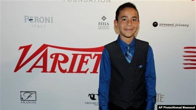 Caine Monroy, 13 tahun, menjadi terkenal di seluruh dunia karena kreativitasnya membuat permainan 'arcade' dari kardus (Foto: dok).