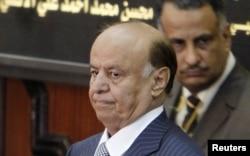 Le président yéménite Abed Rabbo Mansour Hadi (archives)
