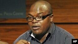 The Director of Zimbabwe Human Rights NGO Forum Abel Chikomo, June 12, 2009.