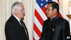 Держсекретар Тіллерсон і прем'єр-міністр Прают Чан-Оча