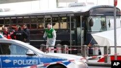 یورش پولیس آلمان بردفتر حزب فوق العاده راست گرا با مفکوره های شبیه نازی