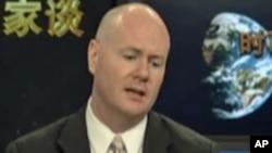美国智库传统基金会资深研究员叶望辉(Mr. Stephen Yates)