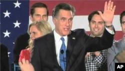 前麻薩諸塞州州長米特.羅姆尼贏得愛奧華州黨團預選。