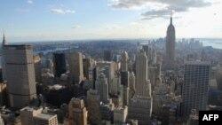 نیویارک شہر کا ایک فضائی منظر