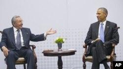 Obama i Kastro juče u Panami