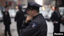 Cảnh sát New York tại Manhattan.