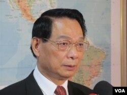 台湾执政党国民党立委吕学樟 (美国之音张永泰)