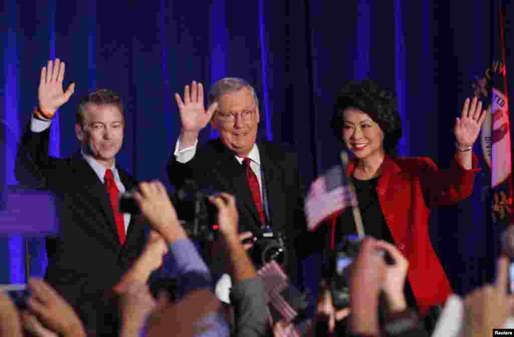 امریکہ میں منگل کو ہونے والے وسط مدتی انتخاباتکے ابتدائی نتائج کے مطابق ریپبلکنز کو سینیٹ میں اکثریت حاصل ہو گئی ہے۔