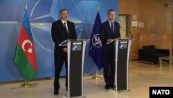 Prezident İlham Əliyev və NATO-nun baş katibi-23.11.2017-ci il