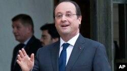 El presidente francés pide inversiones para luchar contra cambimo climático y pobreza.