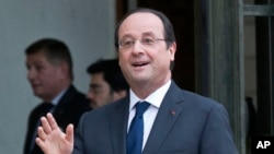 Fransa Cumhurbaşkanı Hollande