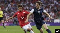Chung kết World Cup Bóng đá nữ 2012 (ảnh tư liệu).