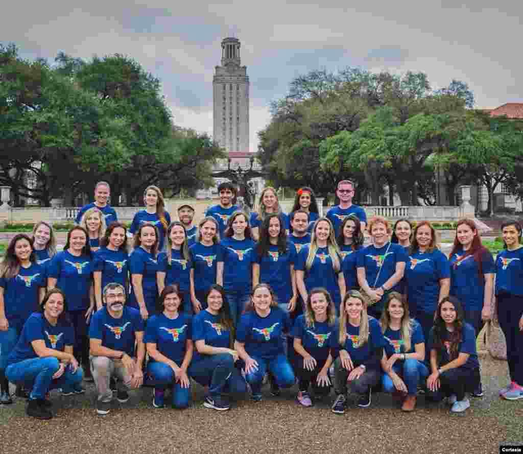 Professores de inglês de várias regiões do Brasil passaram seis semanas estudando nos Estados Unidos para aperfeiçoar o inglês através do programa acadêmico Fullbright.