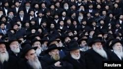 Раввины хасидского движения «Хабад-Любавич». Бруклин, Нью-Йорк