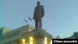 Joshua Nkomo Statue in Bulawayo.