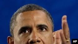 19일 G20 정상회의 후 기자회견을 가진 바락 오바마 미 대통령.