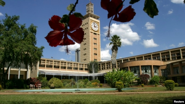 A general view of the Kenyan parliament building in the capital Nairobi, March 2008 file photo.
