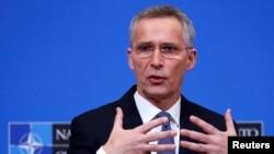 Генеральный секретарь НАТО Йенс Столтенберг