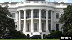the white house building