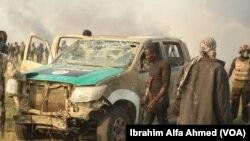 Dakarun Sojojin Najeriya Sun Fatattaki 'Yan Boko Haram Daga Chikun Gudu A Arewacin Borno