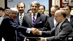 پاک ایران گیس پائپ لائن منصوبے پر گذشتہ ماہ اسلام آباد میں دستخط ہوئے