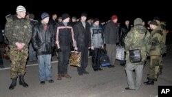Pripreme za razmenu zatvorenika, juče u Donjecku