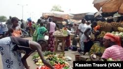 Place de Sikasso, marché medine, Bamako, Mali