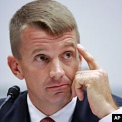 Blackwater Chief Executive Erik Prince (2007 file photo)