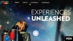 Página web de la empresa francesa Technicolor SA.