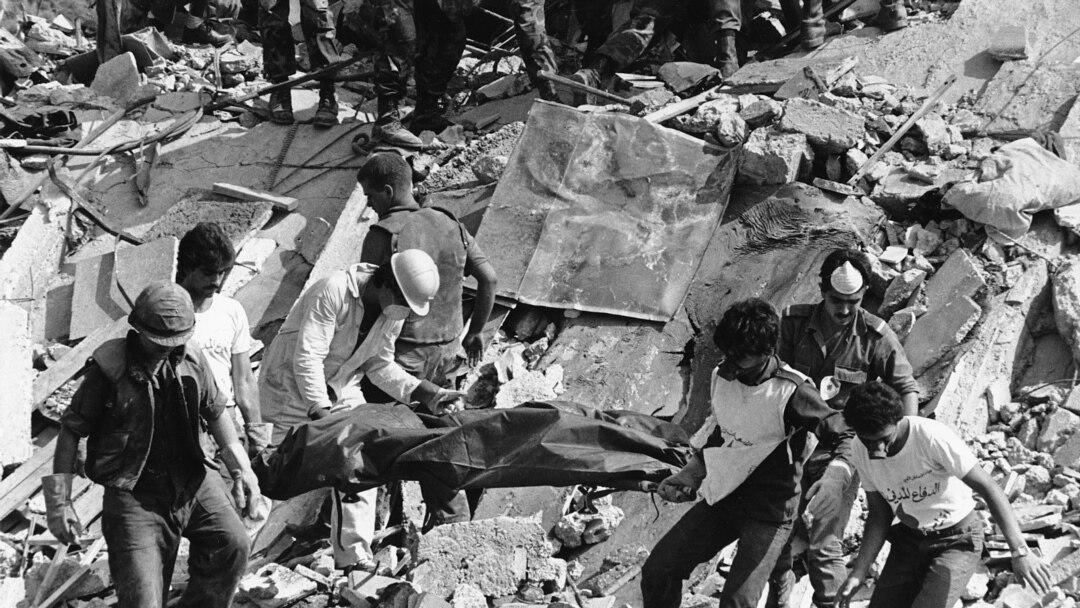 Image result for теракт в бейруте 1983