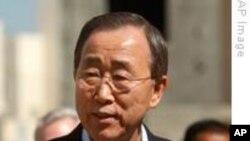 반기문 유엔 사무총장, '유대인 정착촌은 불법'